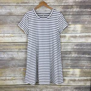 Madewell Striped Retreat Soft Tee Dress